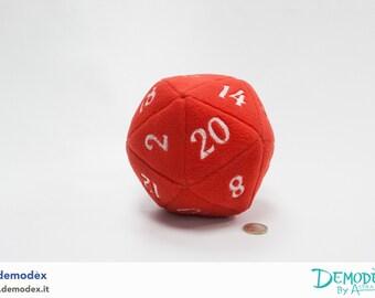 D20 Plush - Pupazzo D20 - Rossa