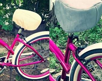Kushy Kruiser Luxury Bike Seat Cover with 4 inch High Density foam.