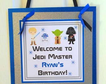 Star Wars Door Sign