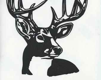 Big Buck Vinyl Decal
