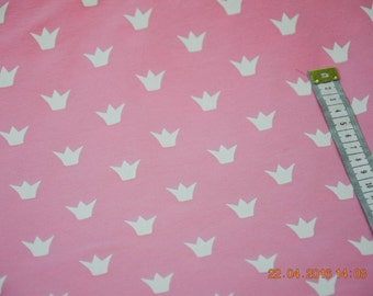 Jersey white on pink Crown