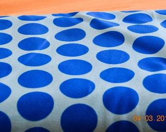 Hilco blue Jersey dots