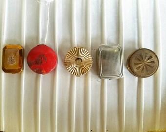 5 Vintage Compacts