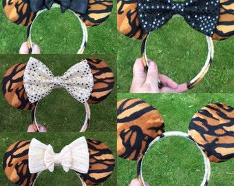 Tiger animal kingdom ears