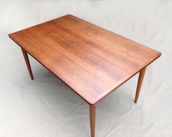 Mid Century Modern Danish Expanding Dining Table by MM Moreddi