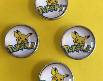 Pokemon Snaps are here!   For Kids of All Ages!!  Fits all 18mm & 20mm Snap Jewelry
