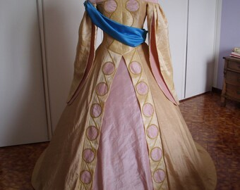 Anastasia Ball Gown Cosplay Costume