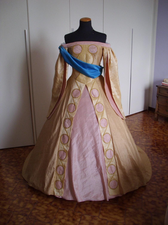 Anastasia Ball Gown Cosplay Costume