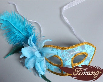 Feather Mask - 43