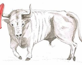 ILLU - the victorious Bull