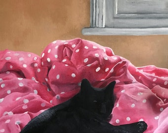 Morning Lounge - High quality print