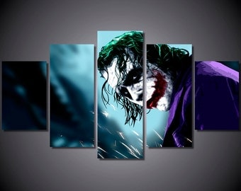 joker batman dark knight large canvas print living room wall artlarge wall canvashome decoroffice decorationcanvas print 053 art force office decoration