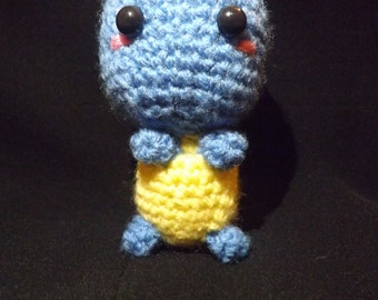Squirtle Crocheted Plush Toy