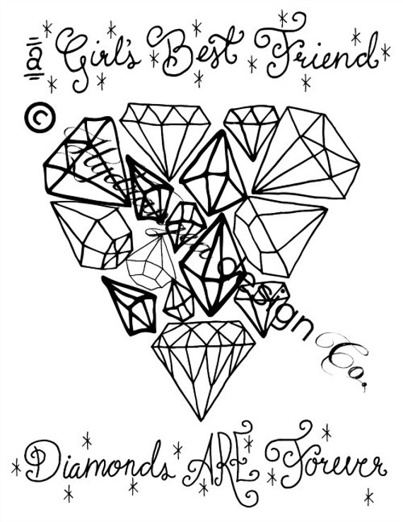 sketched heart coloring pages - photo#35