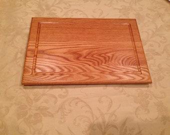"""13"""" x 19"""" oak cutting board"""