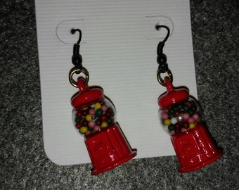 Candy machine earrings