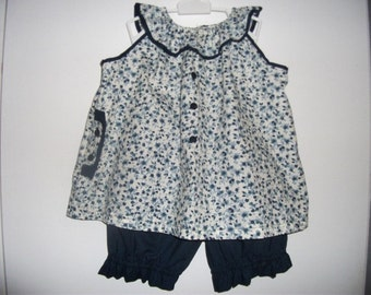 Bloomer and tunic set Or sold separately