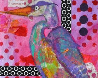 Happy Heron