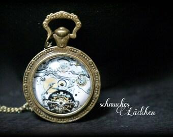 """Antique bronze vintage chain """"Steampunk"""""""
