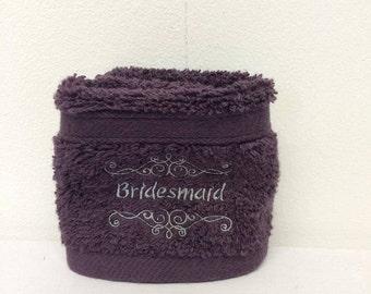 Bridesmaid Face Cloth