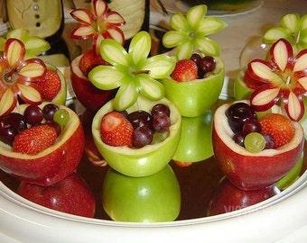 Drunken apples strawberries grape's