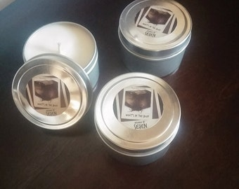 What's in the Box? 4 ounce candle