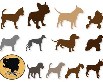 """Shop """"dog svg"""" in Drawing, Painting & Writing Supplies"""