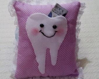 Surprise Tooth Cushion