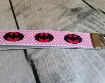 Batman Wristlet Key Fob