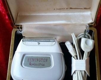 Vintage Remington Rollectric Shaver