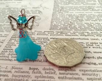 1 Blue Fairy Charm