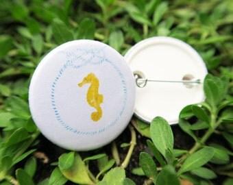 "Badge - ""Seahorse"""