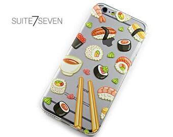iPhone 6 Plus Case, iPhone 7 Plus Case, iPhone 6 Case, iPhone 7 Case, Clear Case, Rubber Case, Galaxy Cases, Galaxy S8 Case, sushi