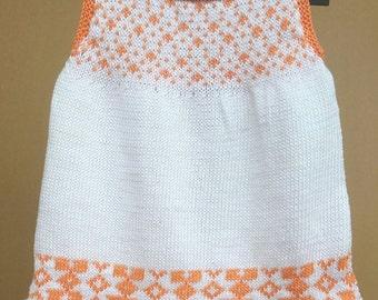 100% Organic Cotton Baby Girl Dress