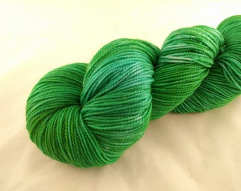 Sock Yarn - One Of A Kind #1 - Merino Wool, Nylon Blend - Hand Dyed - Knit - Crochet - Fingering Weight