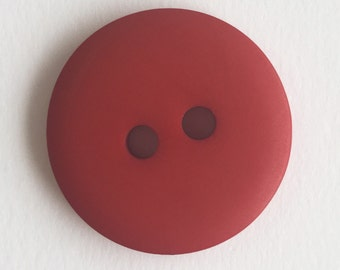 Scarlet Hand Dyed Buttons (in 14 sizes!)