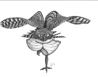 Leaping Owl