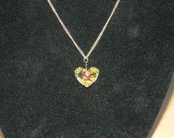 Large Swarovski Heart