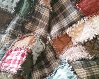 Warm, Cozy, 100% Cotton Quilt