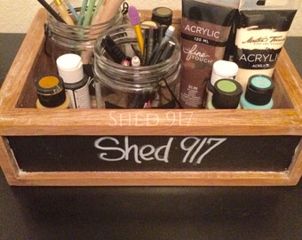 Storage Box with Chalkboard Sides