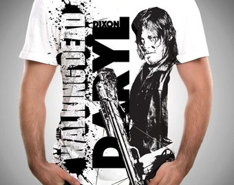 The Walking Dead, Daryl Dixon Shirt, Zombies, TWD, Zombie, TWD Shirt, Daryl Dixon