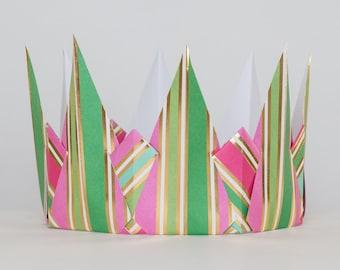 Striped Crown
