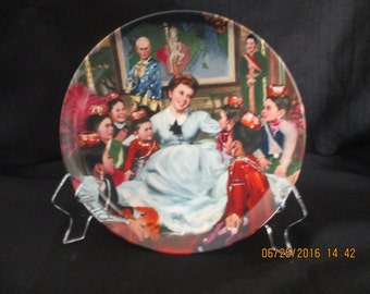 The king and I collectors plate