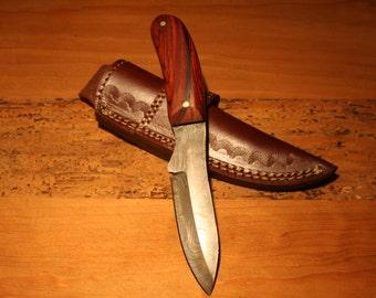 Small Damascus Knife