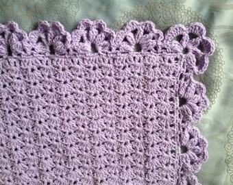 Crochet baby rug or afghan