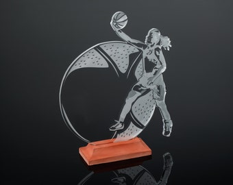 Female Basketball Award / Trophy
