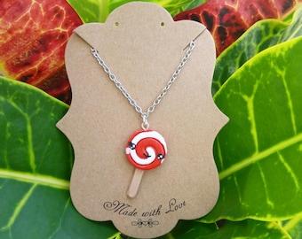 Kawaii Lollipop Necklace