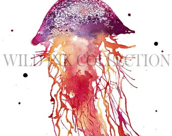 electric jellyfish etsy
