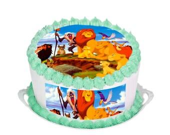 Lion King Cake Decorations Uk : Lion king cake topper Etsy UK