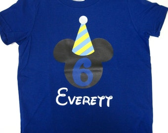 Customized Boys Birthday Shirt